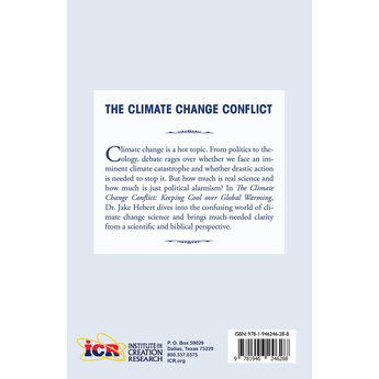 Dr. Jake Hebert The Climate Change Conflict: Keeping Cool Over Global Warming - eBook