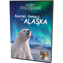 Dr. Jobe Martin God's Living Treasures: Amazing Animals of Alaska
