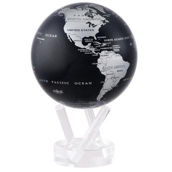 """Mova Globe - 4.5"""" Black and Silver"""