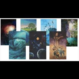 Creation Series Postcard Set