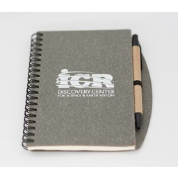 ICR Spiral Notebook with Pen - Gray
