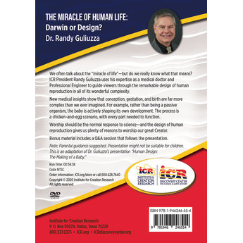 Dr. Randy Guliuzza Discover Creation: The Miracle of Human Life - Download