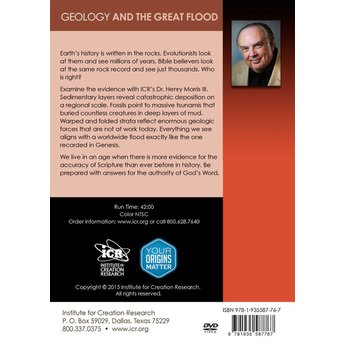 Geology and the Great Flood