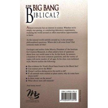 Is the Big Bang Biblical