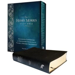 Dr. Henry Morris The Henry Morris Study Bible - Leather