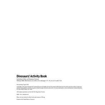 Dinosaurs! Activity Book