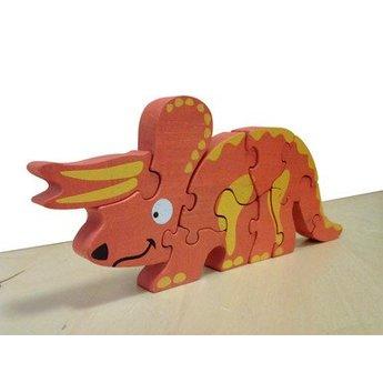 Dinosaur Skeleton Triceratops Puzzle