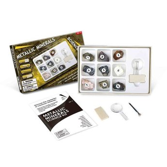 Metallic Minerals Science Kit