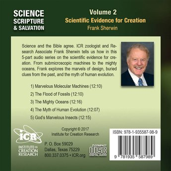Mr. Frank Sherwin Science, Scripture, & Salvation Vol 2