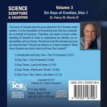Dr. Henry Morris III Science, Scripture, & Salvation Vol 3, Disc 1 - Download