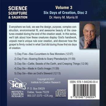 Dr. Henry Morris III Science, Scripture, & Salvation Vol 3, Disc 2 - Download