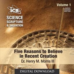 Dr. Henry Morris III Science, Scripture, & Salvation Vol 1 - Download