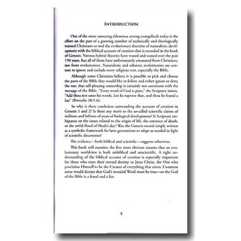Dr. Henry Morris III Five Reasons to Believe in Recent Creation - eBook
