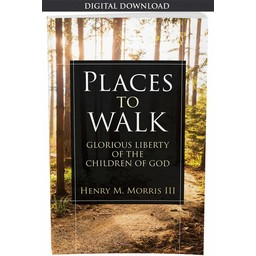 Dr. Henry Morris III Places to Walk - eBook