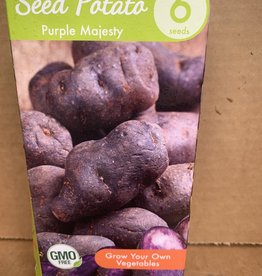 Potatoe, Purple Majesty, 6 qty Boxed