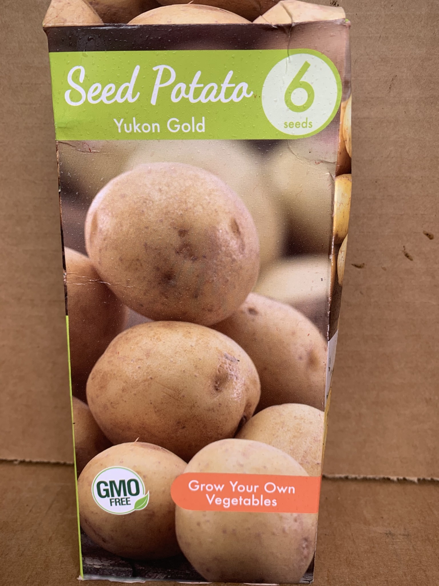 Potatoe, Yukon Gold, 6 qty Boxed