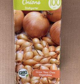 Onion sets, Stuttgarter, 100 qty Boxed
