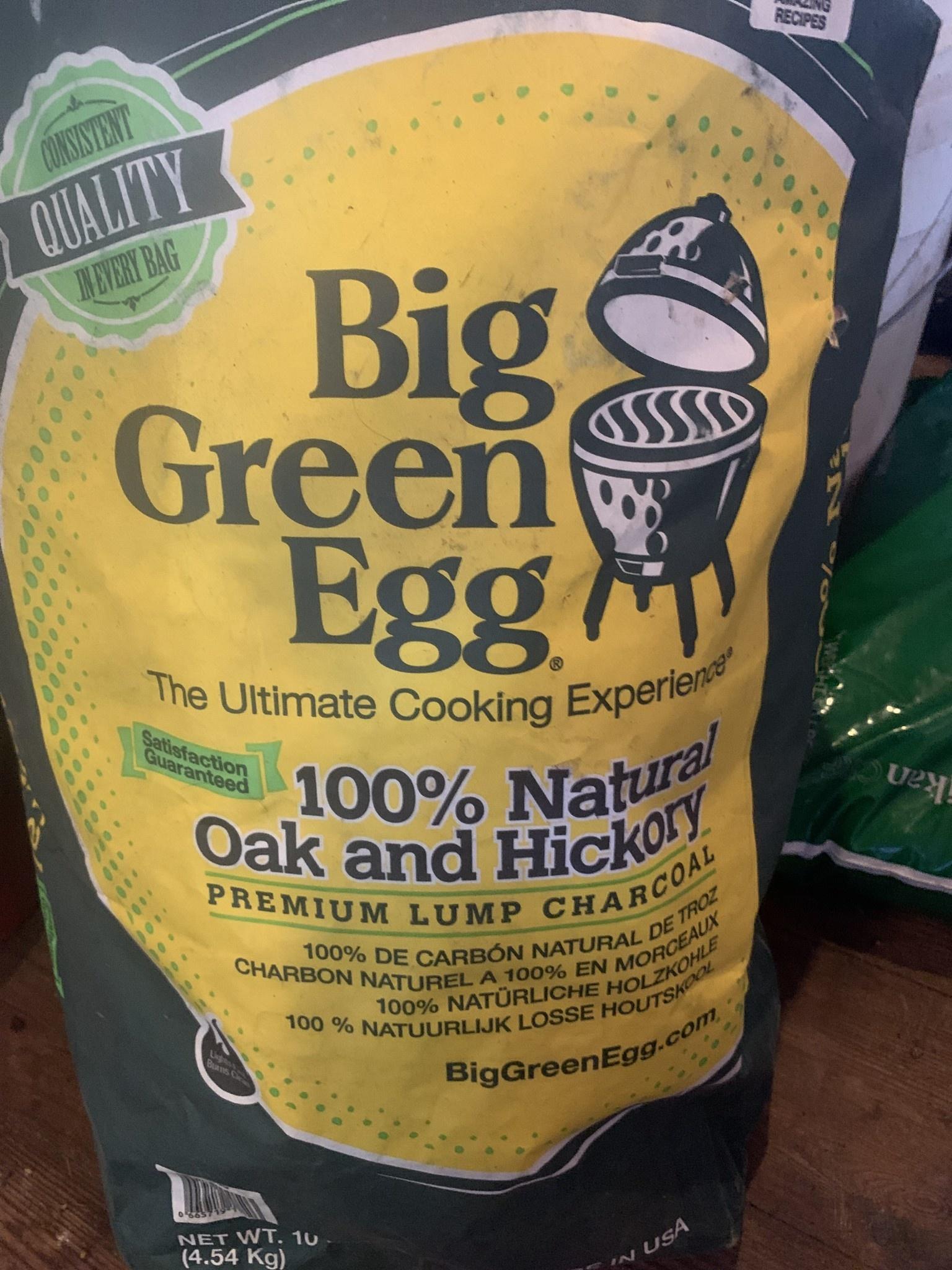 BGE Premium Organic Charcoal (1 BGE Premium Organic Charcoal (10lb / 4.5kg)     by the PALLET,