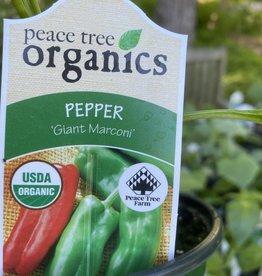 Pepper,  Giant Marconi Organic Qt.