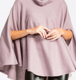 CHERISH Turtle Neck Poncho