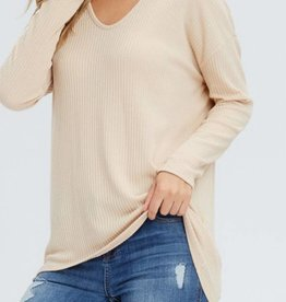 CHERISH Open Shoulder Relax Top