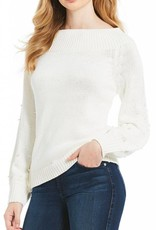 ELAN Wide Neck Sweater