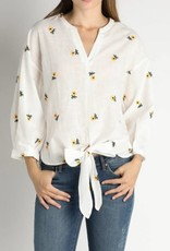 Sunflower Tie Front Blouse