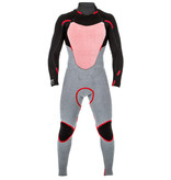 Rip Curl Dawn Patrol 4/3mm Back Zip Wetsuit Black