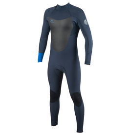 Rip Curl Dawn Patrol 4/3mm Back Zip Wetsuit Blue