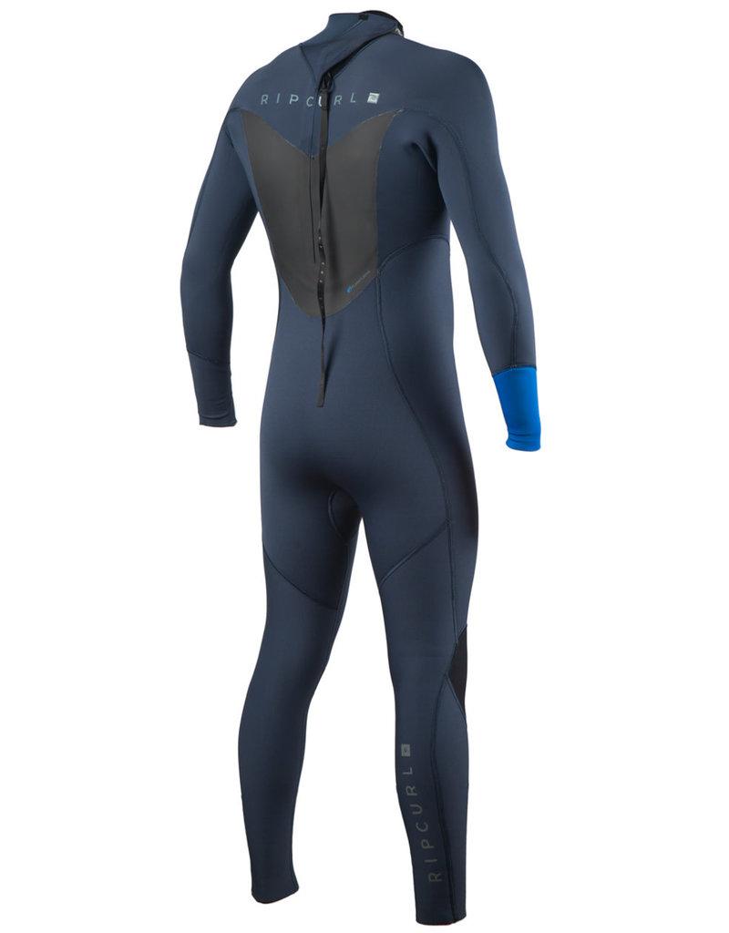 Rip Curl Dawn Patrol 4/3mm Back Zip Wetsuit Blue