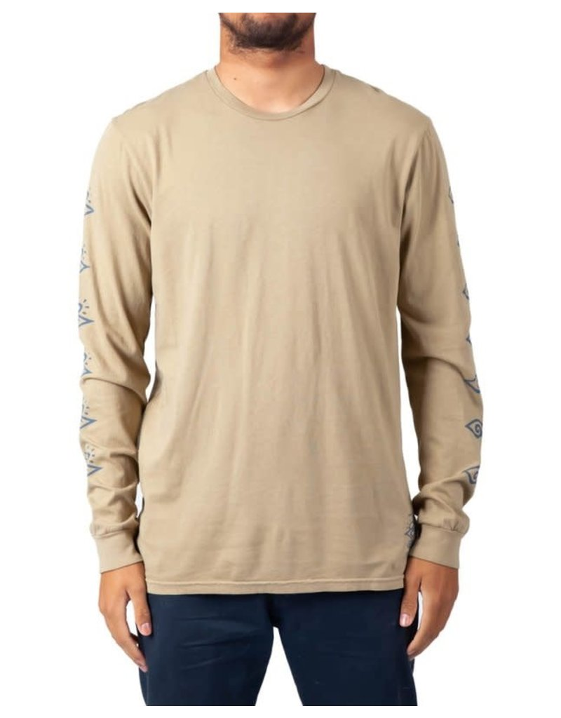 Rip Curl Tribal Search Long Sleeve Tee Tan