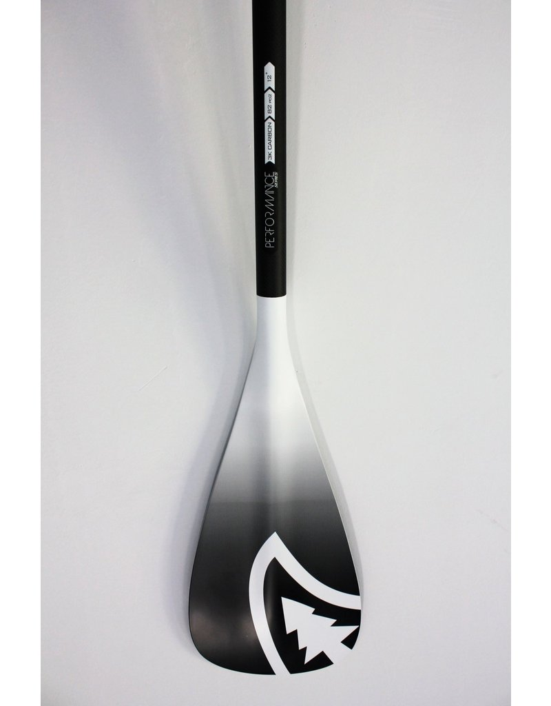 Taiga Paddle PERFORMANCE - Carbon white (Adjustable 2 and 3 pieces)