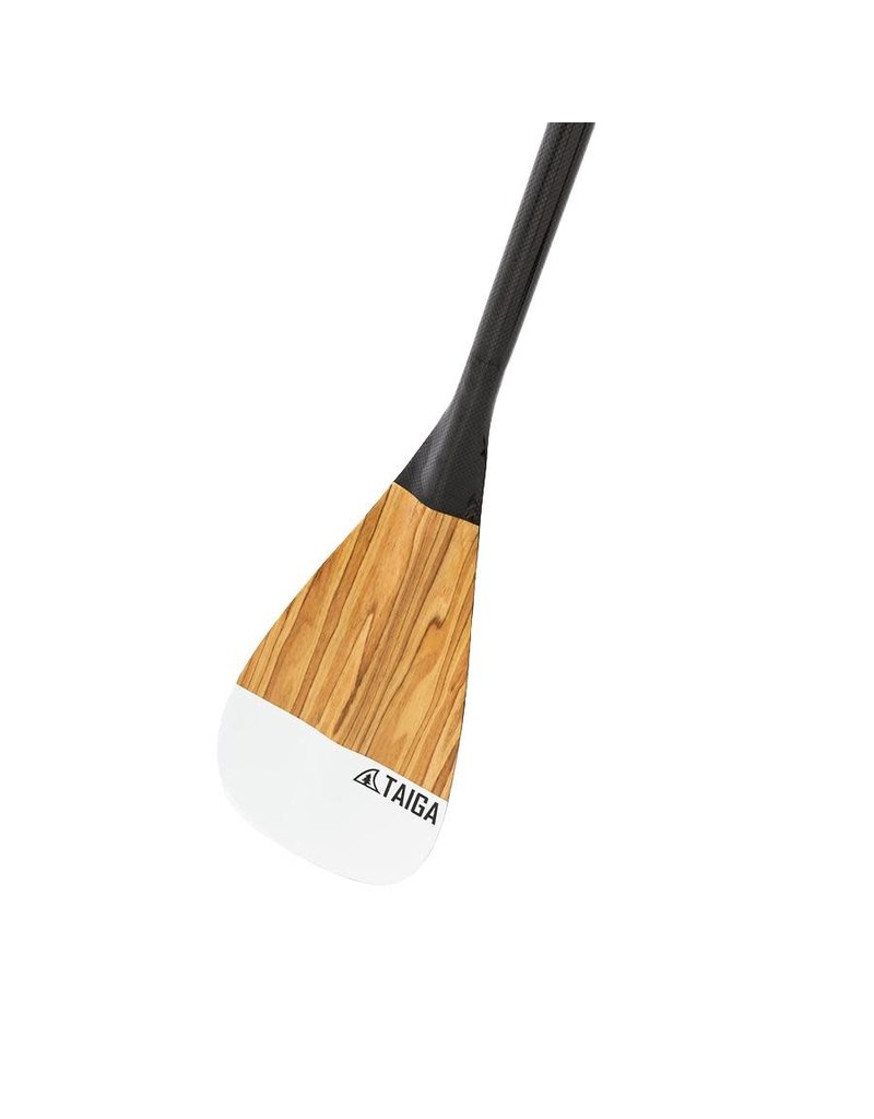 Taiga Pagaie All Carbon - WOOD (Fixe, Ajustable 2 ou 3 pièces)