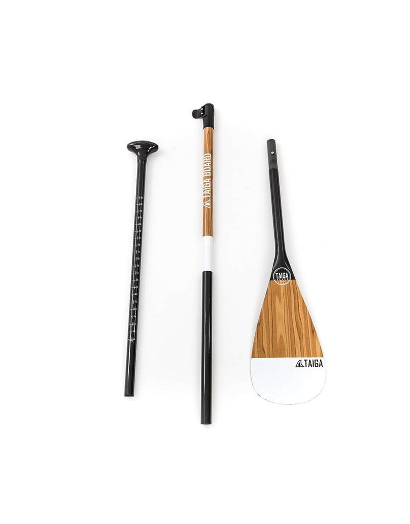 Taiga Paddle PERFORMANCE - Carbon Wood (Fix, Adjustable 2 ou 3 pieces) - PRESALE