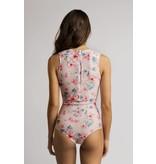Fiora One-Piece Swimsuit in Fleur de bach