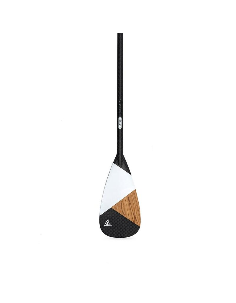 Taiga Paddle Diamond - Asymetric Wood Carbon 12k Wood