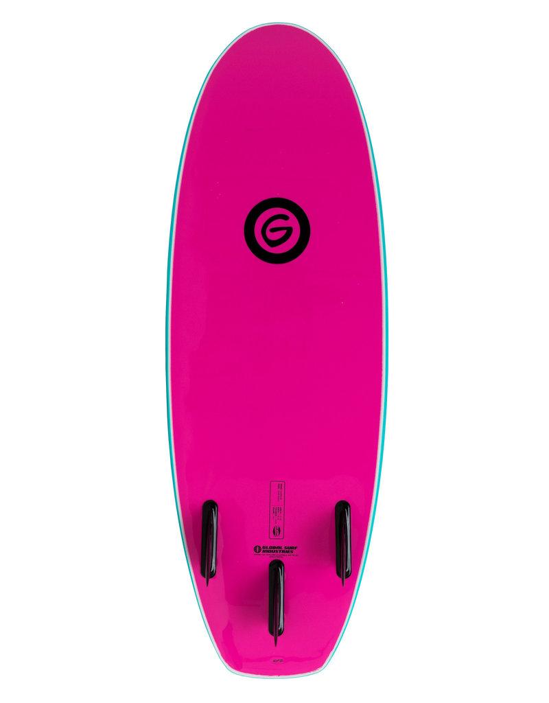 Gnaraloo 4'10 Dune Buggy Torq Pink
