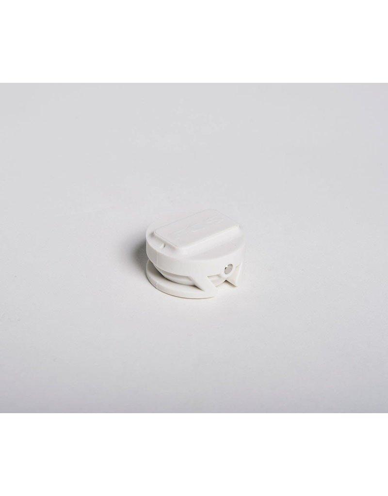 FCS Leash Plug White