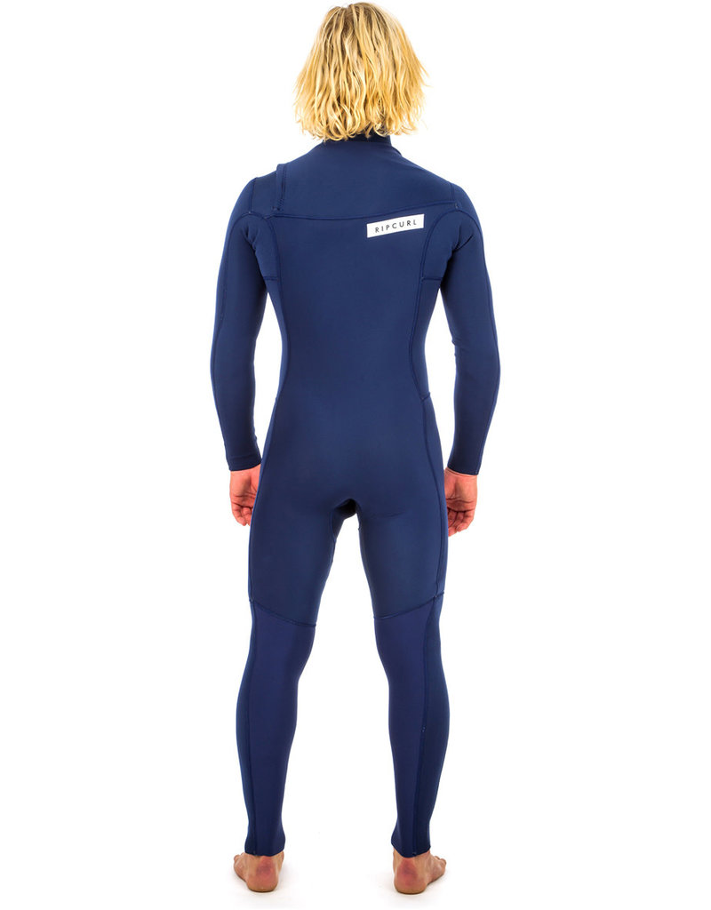 Rip Curl Aggrolite 3/2 Chest Zip Wetsuit Navy