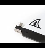 Taiga Central Plastic Fin - Dolphin 8.0''