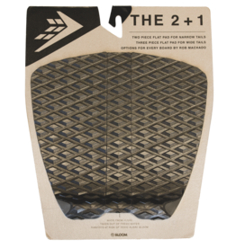 Firewire Surfboards 2+1 Flat traction Pad Black
