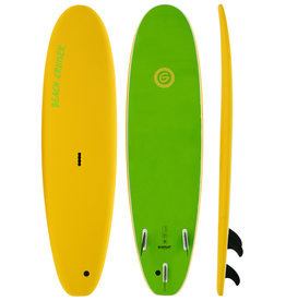 Gnaraloo Beach Cruiser Yellow Lime