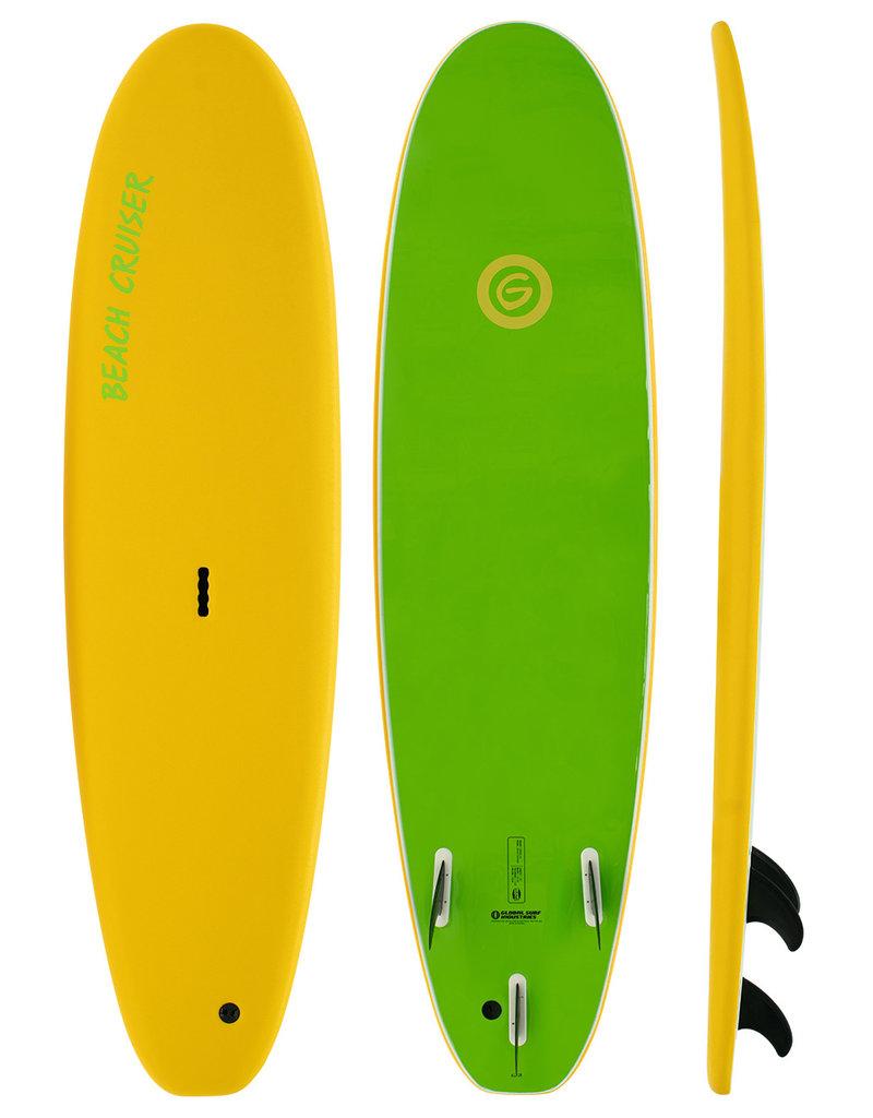 Gnaraloo Beach Cruiser Yellow Lime