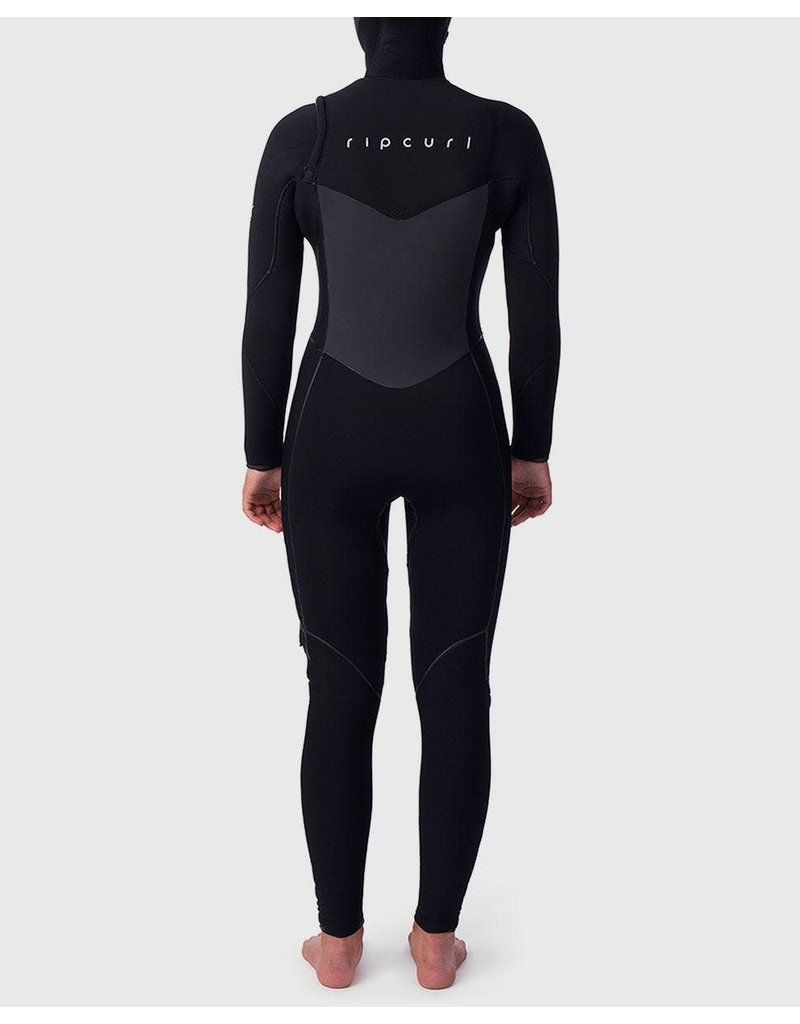 Rip Curl Women's Flashbomb 5/4 Hooded Wetsuit