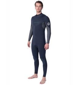 Rip Curl Dawn Patrol 4/3 Back Zip Wetsuit Slate