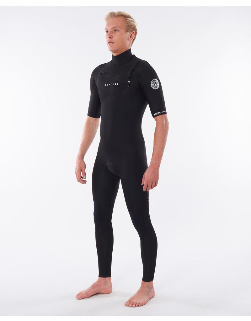 Rip Curl Dawn Patrol Chest Zip Short Sleeve 2mm Wetsuit Steamer