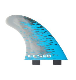 FCS PC Smoke Tri Retail Fins Medium