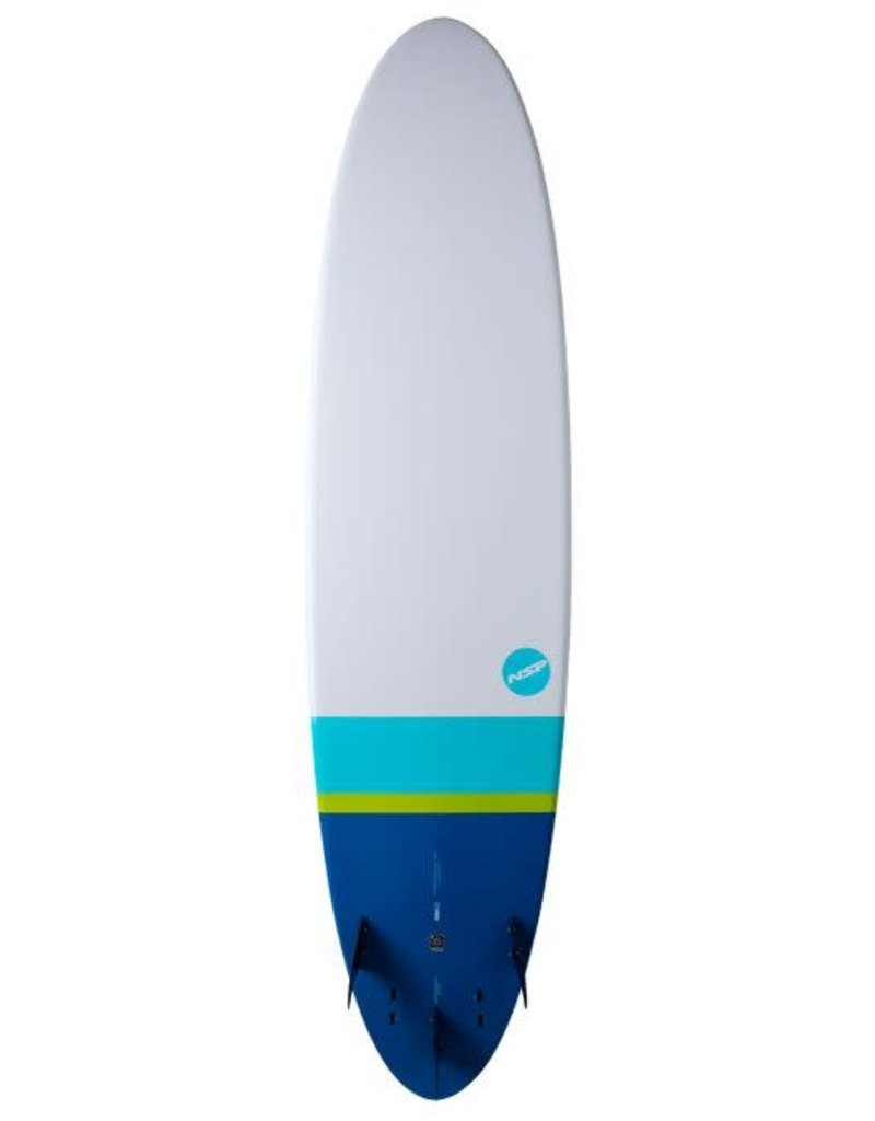 NSP Elements HDT Funboard Tail Dip Navy