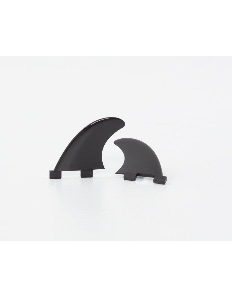 Taiga Ailerons de coté (Side fins) - Noir