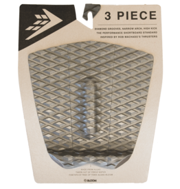 Firewire Surfboards Machado 3 Piece Arch Traction Pad Grey